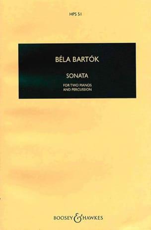 Sonate pour 2 pianos et percussions - Conducteur BARTOK laflutedepan