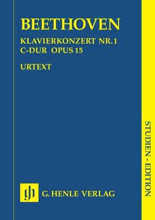 Klavierkonzert Nr. 1 -Partitur BEETHOVEN Partition laflutedepan