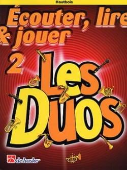 Ecouter Lire et Jouer - Les Duos Volume 2 - 2 Hautbois laflutedepan