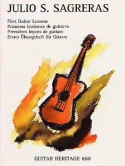 Julio S. Sagreras - Las Primeras Lecciones De Guitarra - Partition - di-arezzo.co.uk