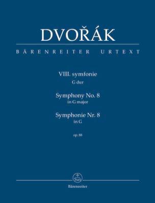 Symphonie Nr. 8 -Partitur DVORAK Partition laflutedepan