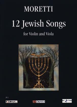 12 Jewish Songs Riccardo Joshua Moretti Partition 0 - laflutedepan