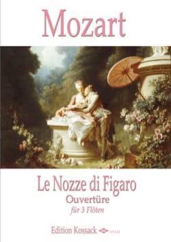 Les Noces de Figaro, Ouverture - 3 Flûtes MOZART laflutedepan