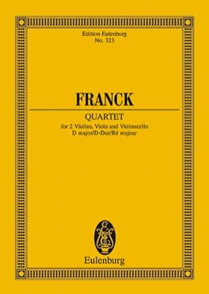 César Franck - Streichquartett D-Dur - Partitur - Partition - di-arezzo.co.uk
