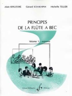 Principes de la flûte à bec - Volume 1 : soprano laflutedepan