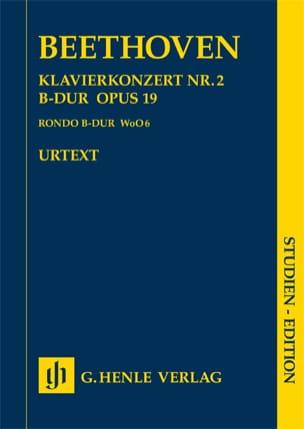 Klavierkonzert Nr. 2 -Partitur BEETHOVEN Partition laflutedepan