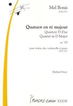 Quatuor En Ré Maj. Op.124 Mel Bonis Partition Quatuors - laflutedepan
