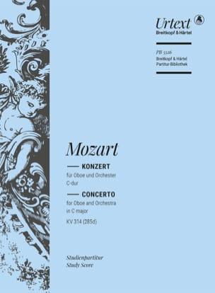 Oboe Concerto in C major KV 314 285d - MOZART - laflutedepan.com