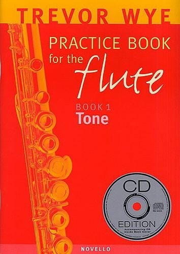 Practice book for the flute Volume 1 - Tone - laflutedepan.com