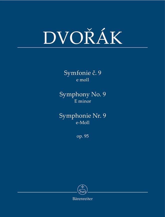 Symphonie Nr. 9 -Partitur - DVORAK - Partition - laflutedepan.com