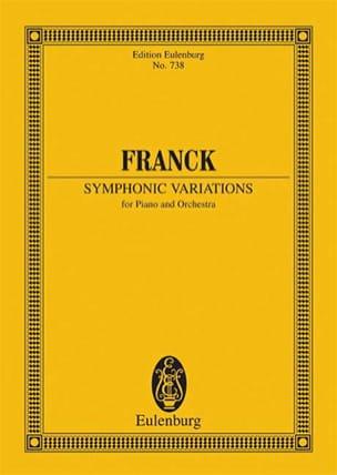 César Franck - Symphonische Variationen - Partition - di-arezzo.co.uk