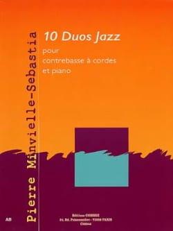 10 Duos Jazz Pierre Minvielle-Sebastia Partition laflutedepan