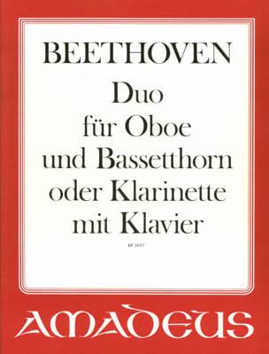 Duo für Oboe, Bassethorn o. Klarinette u. Klavier laflutedepan