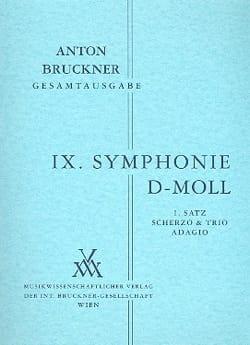 Symphonie Nr. 9 d-moll BRUCKNER Partition Petit format - laflutedepan