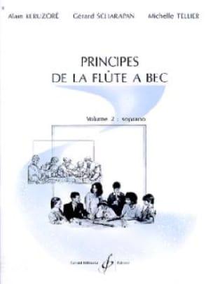 Principes de la flûte à bec - Volume 2 : soprano - laflutedepan.com