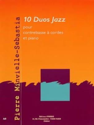 10 Duos Jazz - Pierre Minvielle-Sebastia - laflutedepan.com