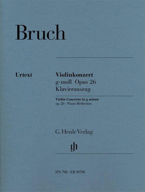 Concerto pour Violon en Sol Mineur N°1 Op. 26 - laflutedepan.com