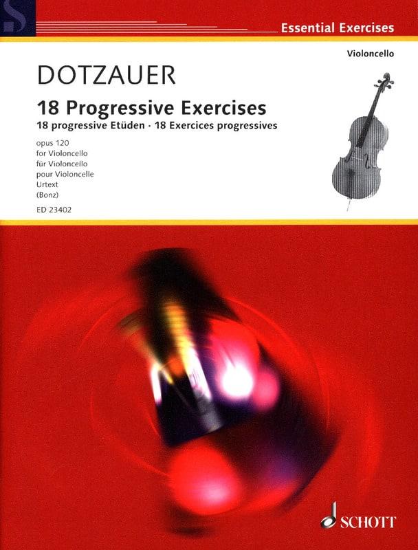 18 Progressive Exercises - Friedrich Dotzauer - laflutedepan.com