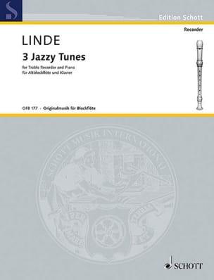 3 Jazzy Tunes - Altblockflöte Klavier Hans-Martin Linde laflutedepan