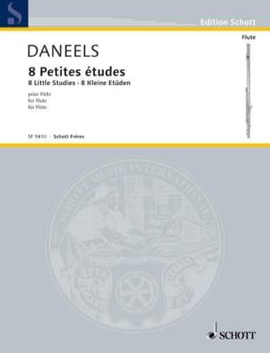 8 Petites études - Flûte François Daneels Partition laflutedepan