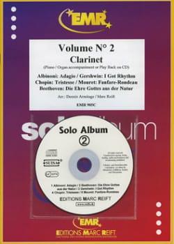 Solo Album - Volume 2 - Clarinette - laflutedepan.com