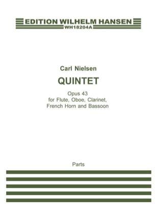 Quintette opus 43 - Parties NIELSEN Partition laflutedepan