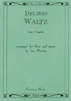 Waltz from Coppélia - Flute piano - DELIBES - laflutedepan.com