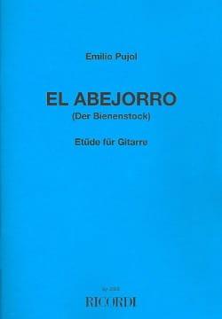 El Abejorro Le Bourdon Emilio Pujol Partition Guitare - laflutedepan