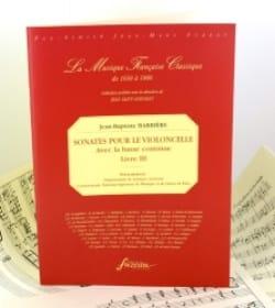 Sonates Pour le Violoncelle Livre 3 laflutedepan