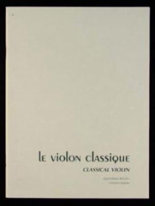Le violon classique Volume 4 - CLASSENS - Partition - laflutedepan.com