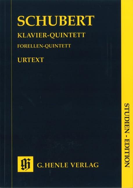 Quintette en La majeur op. posth. 114 D 667 La truite - laflutedepan.com