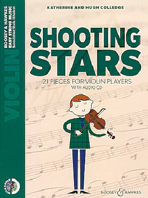 Shooting Stars - Violon + CD - laflutedepan.com