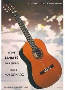 Suite Santa Fé Raul Maldonado Partition Guitare - laflutedepan