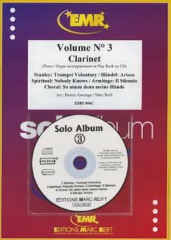 Solo Album - Volume 3 - Clarinette laflutedepan