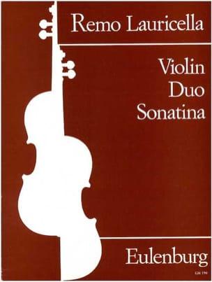 Violin Duo Sonatina - Remo Lauricella - Partition - laflutedepan.com