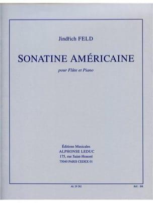Sonatine Américaine Jindrich Feld Partition laflutedepan