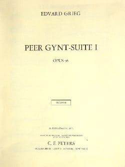 Peer Gynt Suite n° 1 Opus 46 - Matériel complet GRIEG laflutedepan