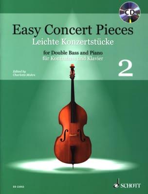 Easy Concert Pieces 2 - Contrebasse et Piano Partition laflutedepan