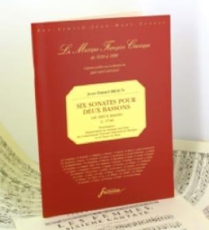 6 Sonates pour 2 Bassons ou 2 Basses - laflutedepan.com