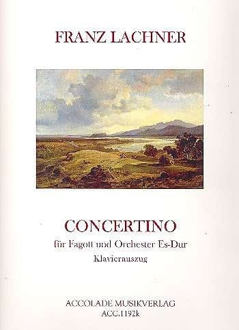 Concertino Es-Dur, op. 23 - Franz Lachner - laflutedepan.com