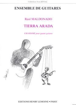 Tierra Arada - 4 Guitares Raul Maldonado Partition laflutedepan