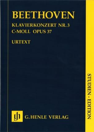 Klavierkonzert Nr. 3 -Partitur BEETHOVEN Partition laflutedepan
