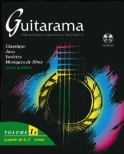 Guitarama Volume 1A Partition Guitare - laflutedepan