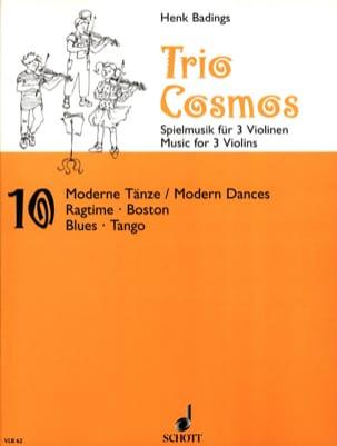 Trio-Cosmos n° 10 Henk Badings Partition Violon - laflutedepan