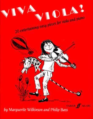 Viva Viola ! Wilkinson Marguerite / Bass Philip Partition laflutedepan