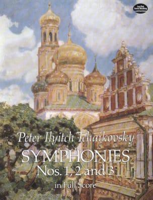 Symphonies N°1, 2 et 3 TCHAIKOVSKY Partition laflutedepan