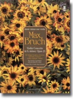 Concerto en Sol Min. Op.26 - CD Inclus - BRUCH - laflutedepan.com