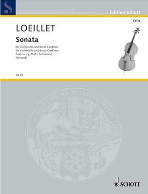 Sonate sol mineur de Gant Jean Baptiste Loeillet laflutedepan