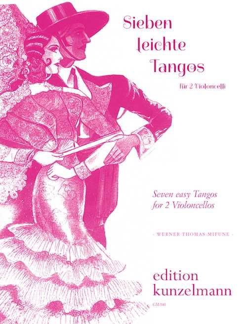 7 Leichte Tangos - Werner Thomas-Mifune - Partition - laflutedepan.com