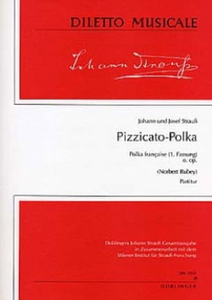 Pizzicato-Polka o. op. -Partitur - laflutedepan.com